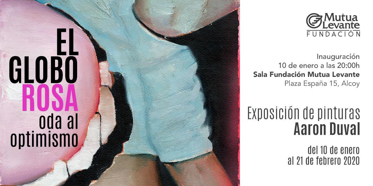 «El Globo Rosa. Oda al optimismo», nueva exposición en la Fundación Mutua Levante de Alcoy