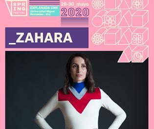Zahara se convierte en la nueva y brillante confirmación para Spring Festival 2020
