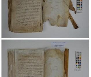 El Archivo Municipal de Alcoy restaura dos de sus documentos más antiguos