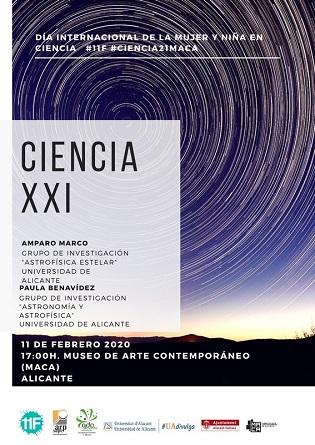La Regidoria de Cultura d'Alacant celebra el Dia Internacional de la dona i la xiqueta en la ciència