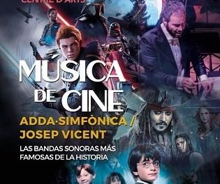 """ADDA·Simfònica interpretarà les bandes sonores més famoses de la història en el concert """"Música de cine"""" a Palau Altea"""