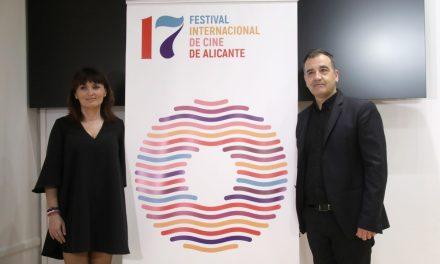 El Festival de Cine de Alicante presenta la imagen de la XVII edición con un dinámico cartel del diseñador gráfico Alfredo León