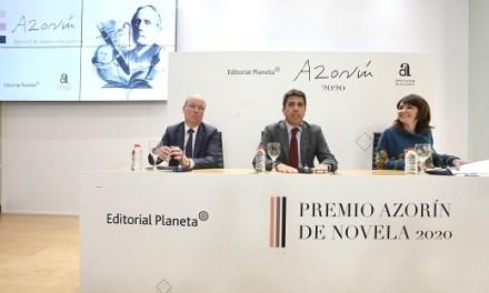 Un total de 218 obras concurren este año al 'Premio Azorín de Novela' que convocan la Diputación de Alicante y Editorial Planeta