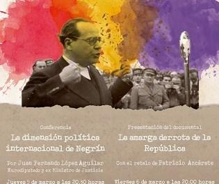 El eurodiputado Juan Fernando López Aguilar abrirá 'Las Voces de la República' el 5 de marzo con una conferencia sobre Juan Negrín