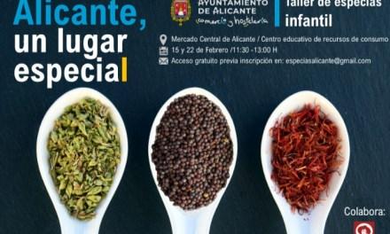 L'Ajuntament d'Alacant programa al febrer un Taller educatiu infantil gratuït sobre espècies 'Alacant un lloc especial' en CERCA