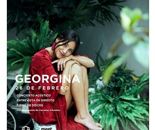 """El pop intimista de Georgina protagonizará """"Momentos Alhambra"""" en el Teatro Principal"""
