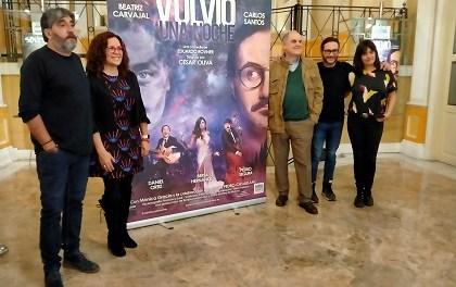 """Carnavales con la famosa comedia """"Volvió una noche"""" en el Teatro Principal de Alicante"""