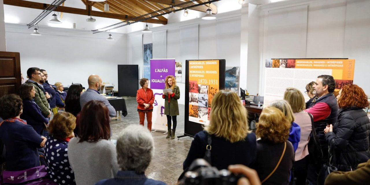 Inaugurada la Programació de la Dona Març 2020 a l'Alfàs