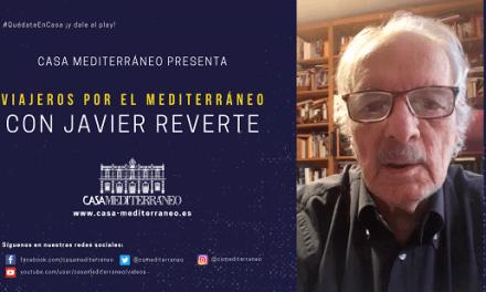"""Ciclo """"Viajeros por el Mediterráneo"""" con el escritor JAVIER REVERTE"""