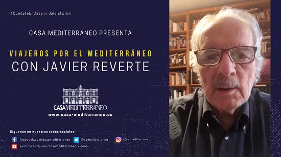 """Cicle """"Viatgers pel Mediterrani"""" amb l'escriptor JAVIER REVERTE"""