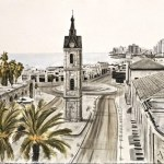 Casa Mediterráneo presenta la exposición de pintura 'Impresiones de Tel Aviv' del artista Chimo Pérez en la Lonja del Pescado de Alicante