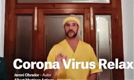Estreno en Alicante del monólogo «Corona Virus Relax» del dramaturgo Jeroni Obrador