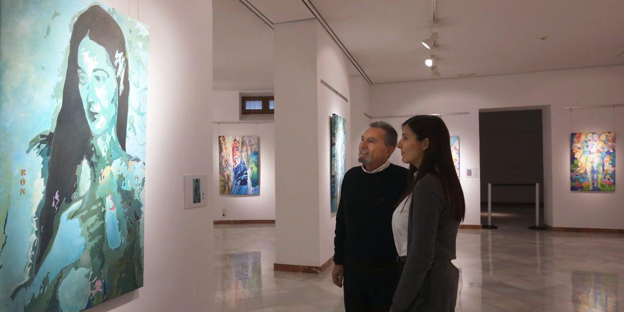 Exposició 'Eón3' del pintor Ángel Rodríguez Cabrera