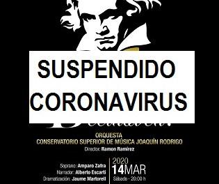Beethoven, Beethoven! con la Orquesta CSMV Joaquín Rodrigo de Valencia