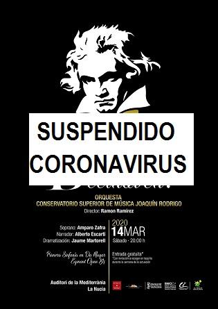 Beethoven, Beethoven! amb l'Orquestra CSMV Joaquín Rodrigo de València