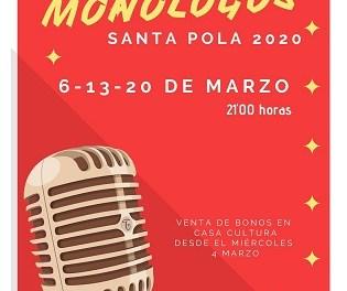 XIII Certamen Nacional de Monòlegs d'Humor de Santa Pola