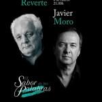 """Javier Moro y Javier Reverte protagonistas  de """"El Sabor de las Palabras"""" y el ciclo """"De par en par"""""""