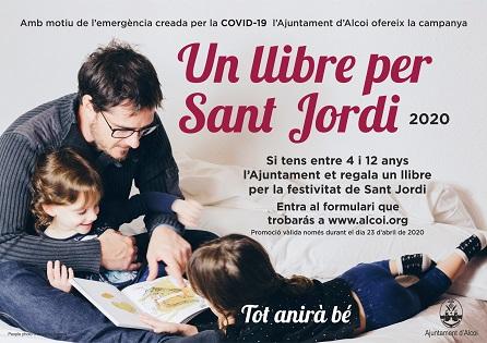 L'ajuntament regala un llibre per Sant Jordi 2020 per a la infància d'Alcoi