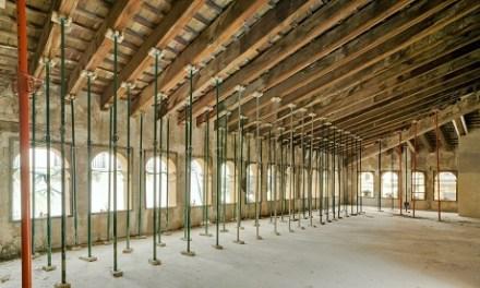 El futuro Centro de Arte Hortensia Herrero estrena web y un recorrido virtual por las obras de rehabilitación