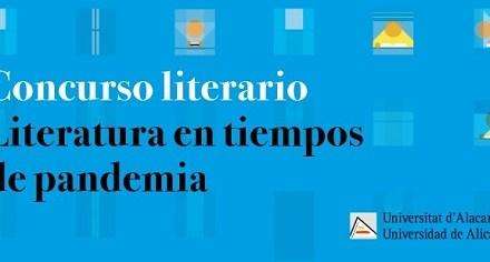 La Universidad de Alicante convoca el certamen de literatura hiperbreve «Literatura en tiempos de pandemia»