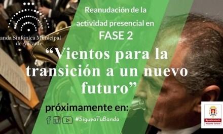 La Regidoria de Cultura presenta «vents per a la transició a un nou futur» de la Banda Simfònica Municipal