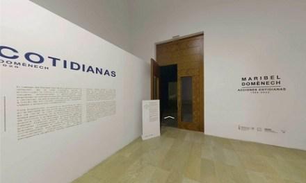 Inauguració virtual de l'exposició 'Maribel Domènech. Accions quotidianes' en el Consorci de Museus