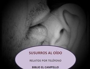 """""""Susurros al oido"""", nova iniciativa de Cultura de El Campello amb narracions literàries per telèfon"""