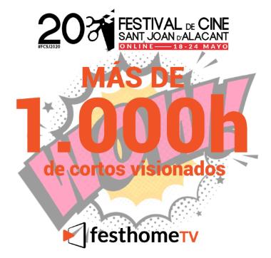 El 20º Festival de Cine Sant Joan d´Alacant cierra su primera edición online