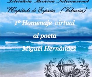 La Fundació Miguel Hernández ha col·laborat en el I Homenatge virtual al poeta oriolà
