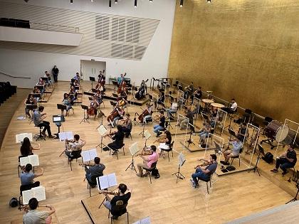 El ADDA celebra este viernes el primer concierto sinfónico con presencia de público en España tras la Covid-19