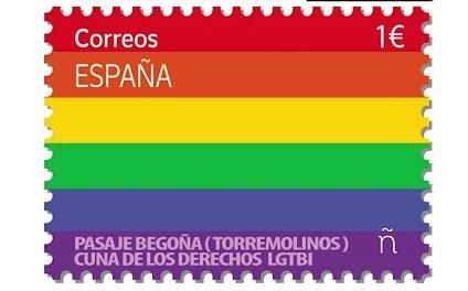 El sello de correos LGTBI para mandar cartas también de amor