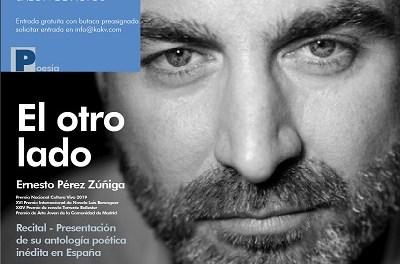 """Ernesto Pérez Zúñiga, Premio Nacional Cultura Viva 2019, presenta en la Casa de Cultura de Villena su antología """"El otro lado"""""""
