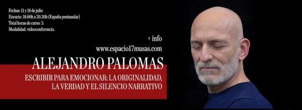 Aprendre a escriure amb Alejandro Palomas: l'originalitat, la veritat i el silenci narratiu