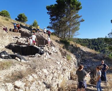 Las excavaciones del Castellar de Alcoy se siguen llevando a cabo