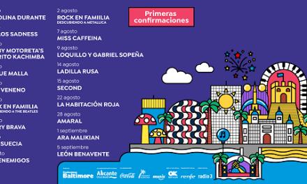 Noches Mediterráneas llega al Puerto de Alicante con una treintena de conciertos este verano: Amaral, Loquillo y Gabriel Sopeña, Ara Malikian, Carlos Sadness…