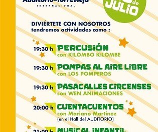 L'Auditori de Torrevella reprén la seua programació aquest dissabte amb un espectacle infantil