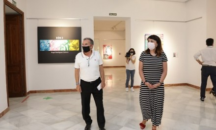 Art Pròxim: La Diputació d'Alacant presenta una exposició amb els últims treballs del pintor Ángel Rodríguez Cabrera
