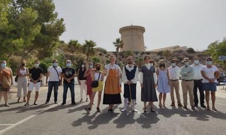 Un recorrido teatralizado rememora la vinculación histórica de El Campello con el mar y la pesca