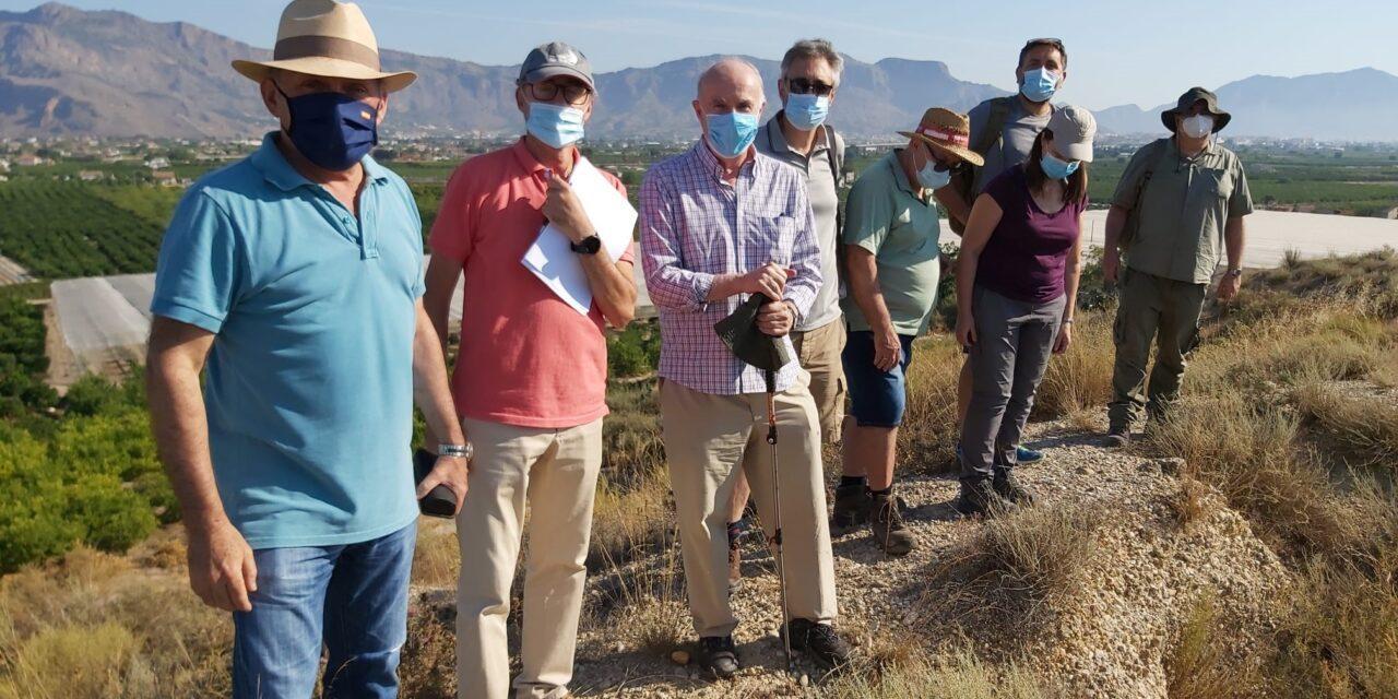 Patrimonio Histórico de Orihuela inicia los trabajos previos a la excavación del Yacimiento de Los Saladares