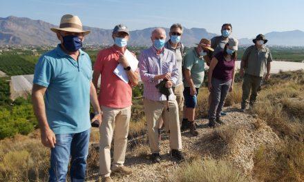 Patrimoni Històric d'Oriola inicia els treballs previs a l'excavació del Jaciment dels Saladars