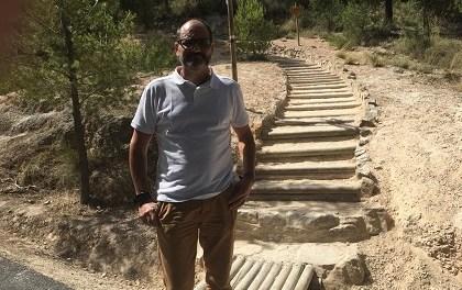 Condicionen l'accés a la senda del Cid a Petrer per a facilitar el seu ús correcte i evitar l'erosió
