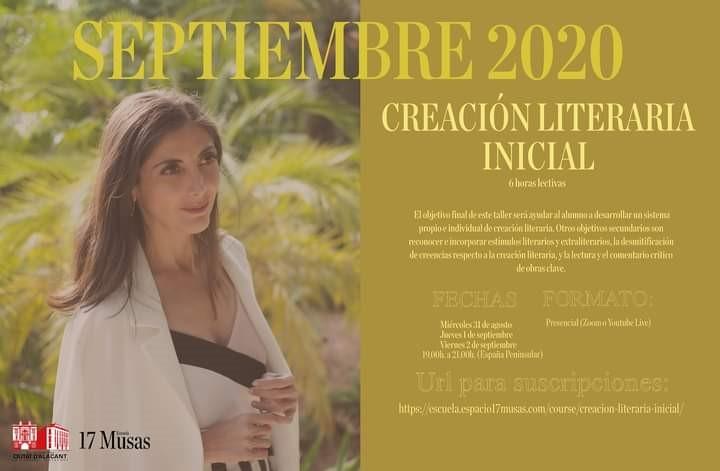 Curso de Creación Literaria Inicial a cargo de Espido Freire