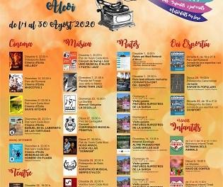 Cine, música, teatro, rutas y juegos populares, esta semana en las actividades de «Viu l'Estiu» a Alcoy