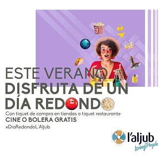 El centro comercial l'Aljub de Elche regalará cientos de  entradas para el cine y la bolera