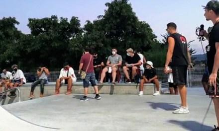 Éxito de participación en la primera batalla de gallos organizada por la Concejalía de Juventud de Elda en las instalaciones del Skate Park