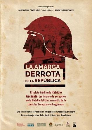 """El documental """"La amarga derrota de la República"""" será presentado en el Festival de Cine y Televisión Reino de León"""
