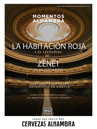 """""""Momentos Alhambra"""" es trasllada al Castell de Santa Bàrbara amb els concerts de La Habitación Roja i Zenet"""