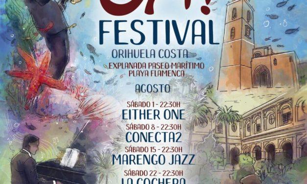 """Turismo y Festividades organizan """"OH! Festival"""", una programación de actividades musicales para las noches de sábado de agosto en Orihuela Costa"""