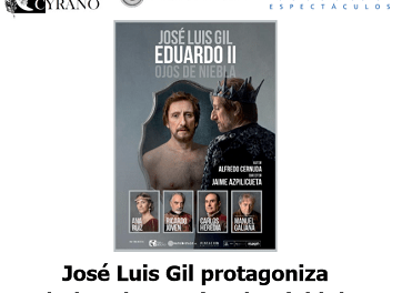 José Luis Gil protagoniza la obra 'Eduardo II, Ojos de Niebla' en Torrevieja