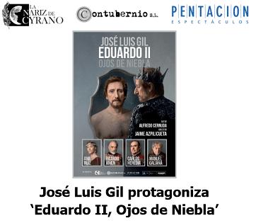José Luis Gil protagonitza l'obra 'Eduardo II, Ojos de Niebla' a Torrevella